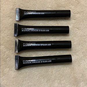 4 Mac Mascara Samples